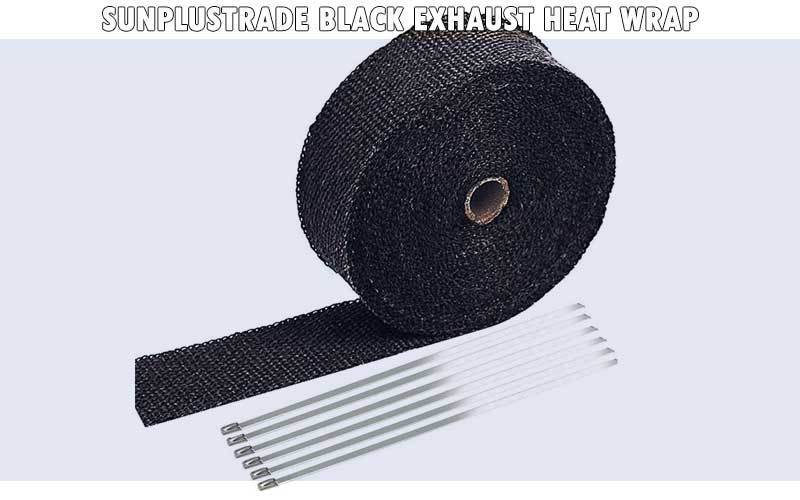 SunplusTrade Black Exhaust Heat Wrap review