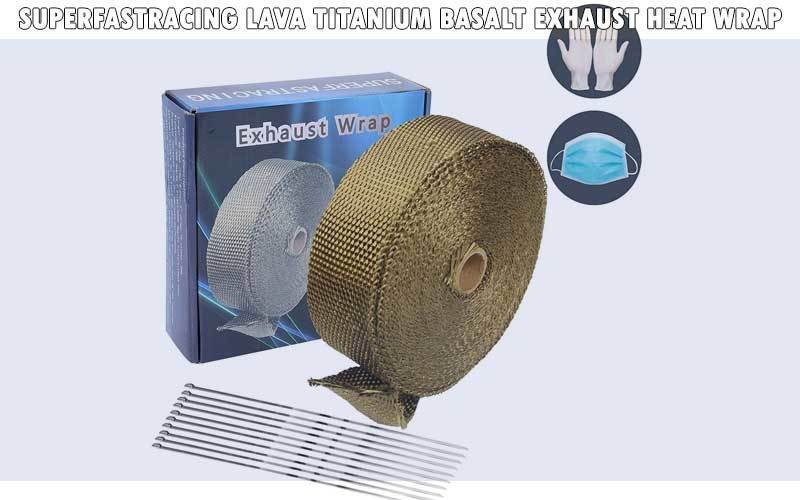 Superfastracing Lava Titanium Basalt Exhaust Heat Wrap review