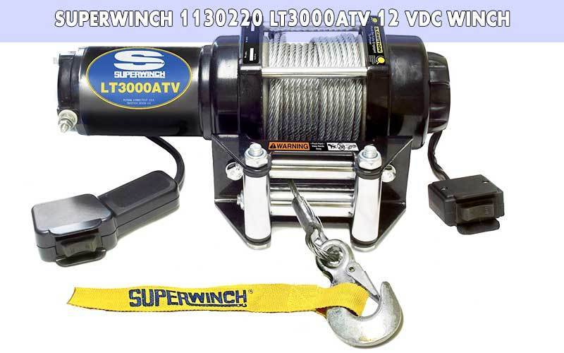 Superwinch 1130220 LT3000ATV 12 VDC winch review