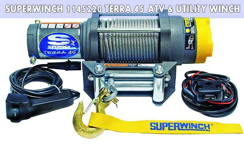 Superwinch 1145220 Terra 45 ATV & Utility Winch review
