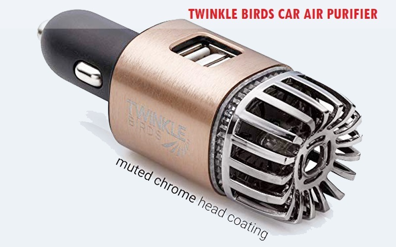 TwinkleBirds vehicle Air Purifier Review