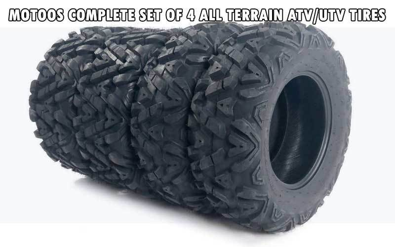 Motoos Complete Set of 4 ATV/UTV Tires review