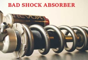 bad shock absorber symptoms