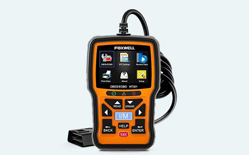 FOXWELL NT301 OBD2 Scanner Review