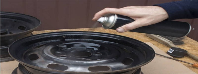 How to Spray Paint on Rims