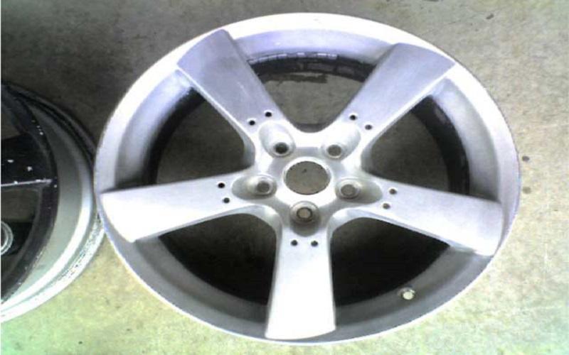remove the tire from rim
