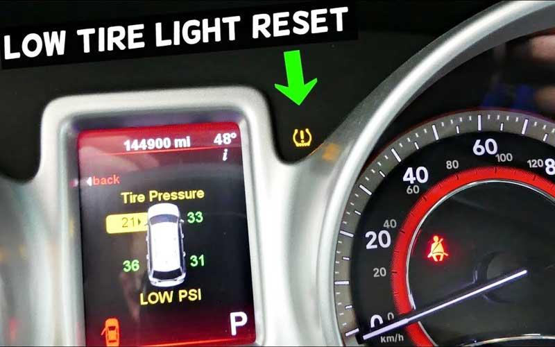 reset tire pressure sensor