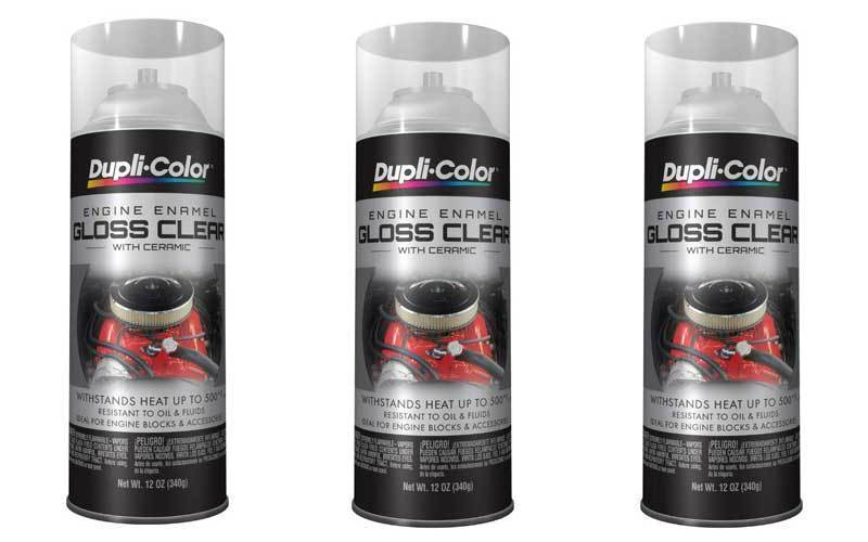 Dupli-Color DE1636 Ceramic Clear Engine Paint review