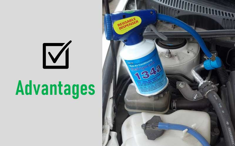 Advantages of the AC recharge
