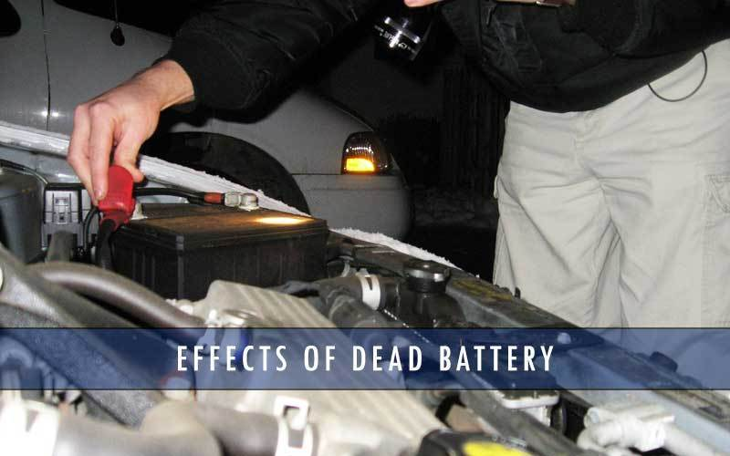Effects of dead battery