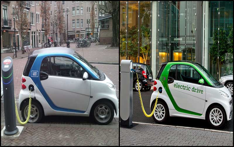 Electric Smart cars – a greener future