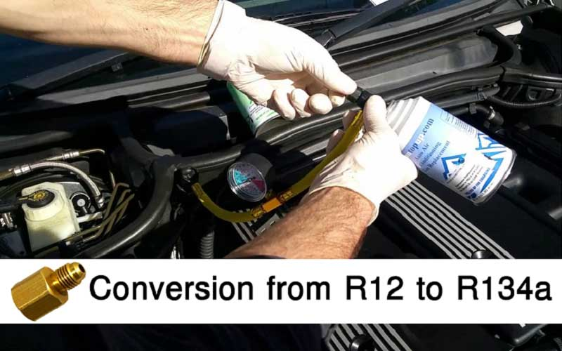 R12 to R134a Conversion