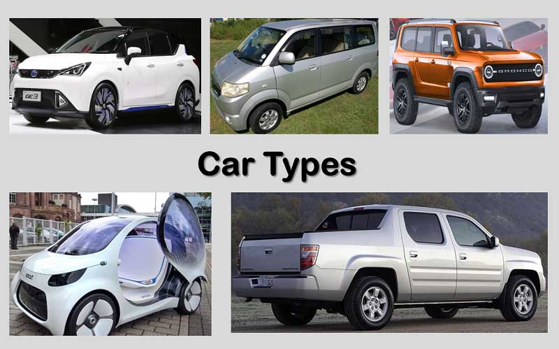 Weight by Car Types