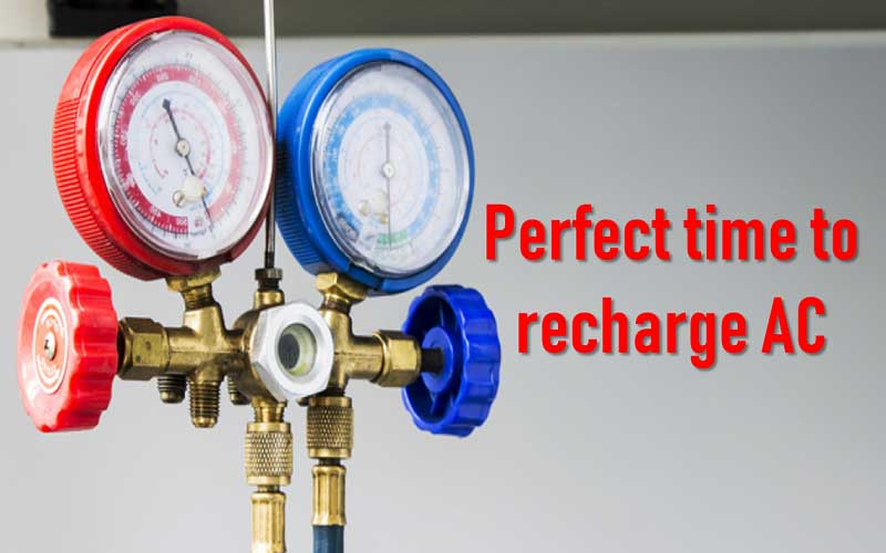 When you should recharge your AC