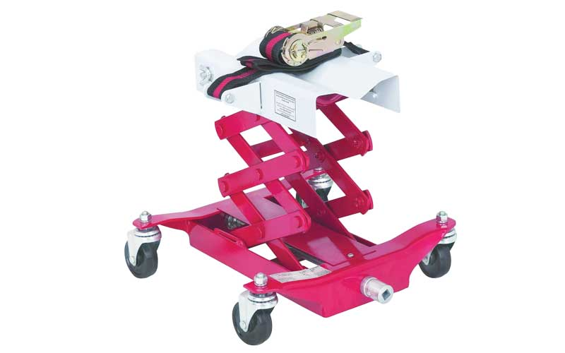 Low lift 450 LBS central hydraulic transmission Jack