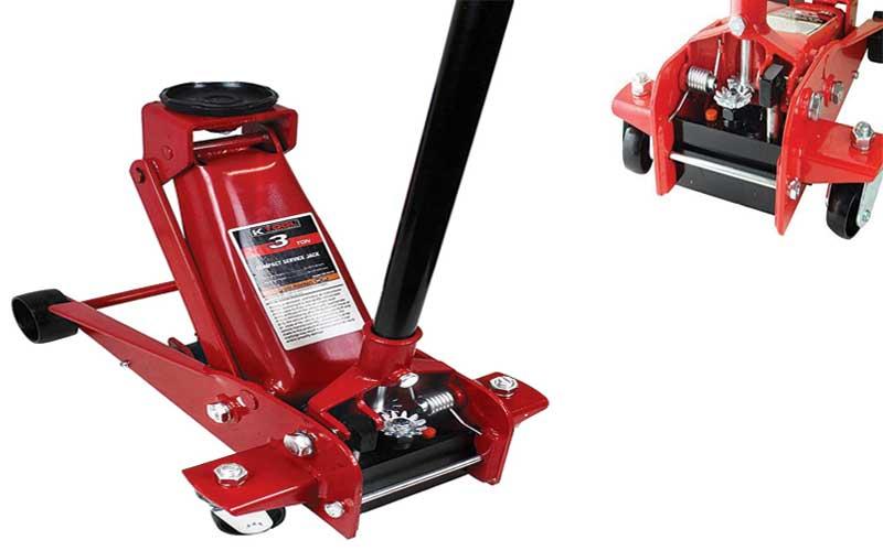 K tool international heavy duty steel jack