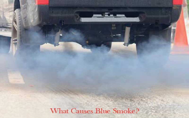 Common causes of blue smoke exhaust