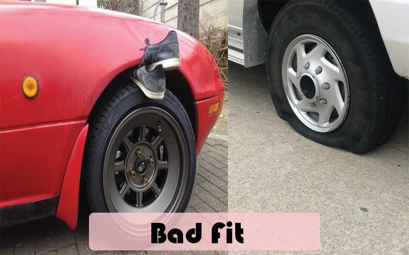 How to avoid having bad wheel fitting in my car
