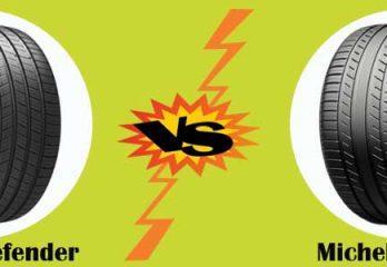 Michelin defender versus premier tire