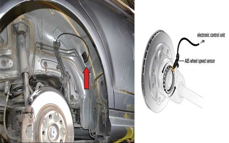 how to tell which wheel speed sensor is bad