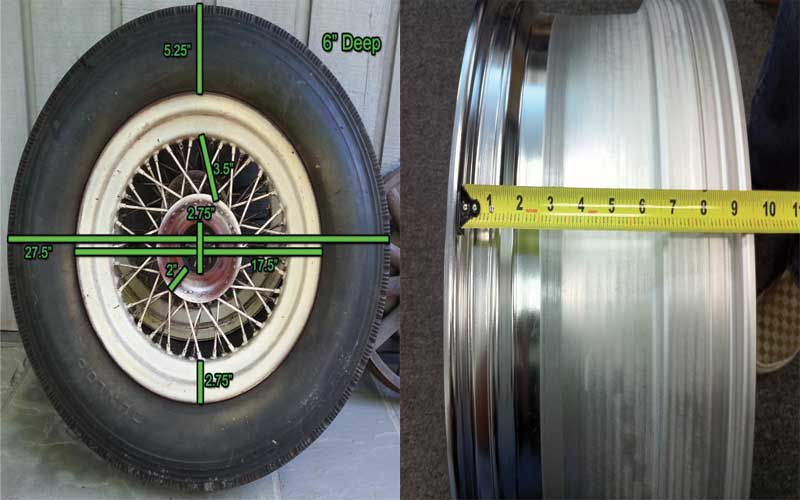 How to measure your vehicle wheel.