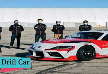Toyota autonomous supra drift car feature