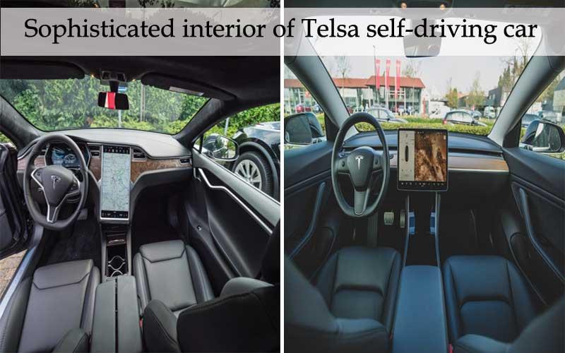 Tesla Sophisticated Interior design