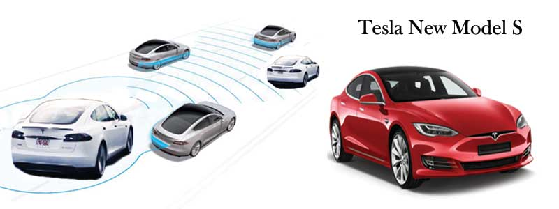 Tesla's new Model S will automatically shift between the park